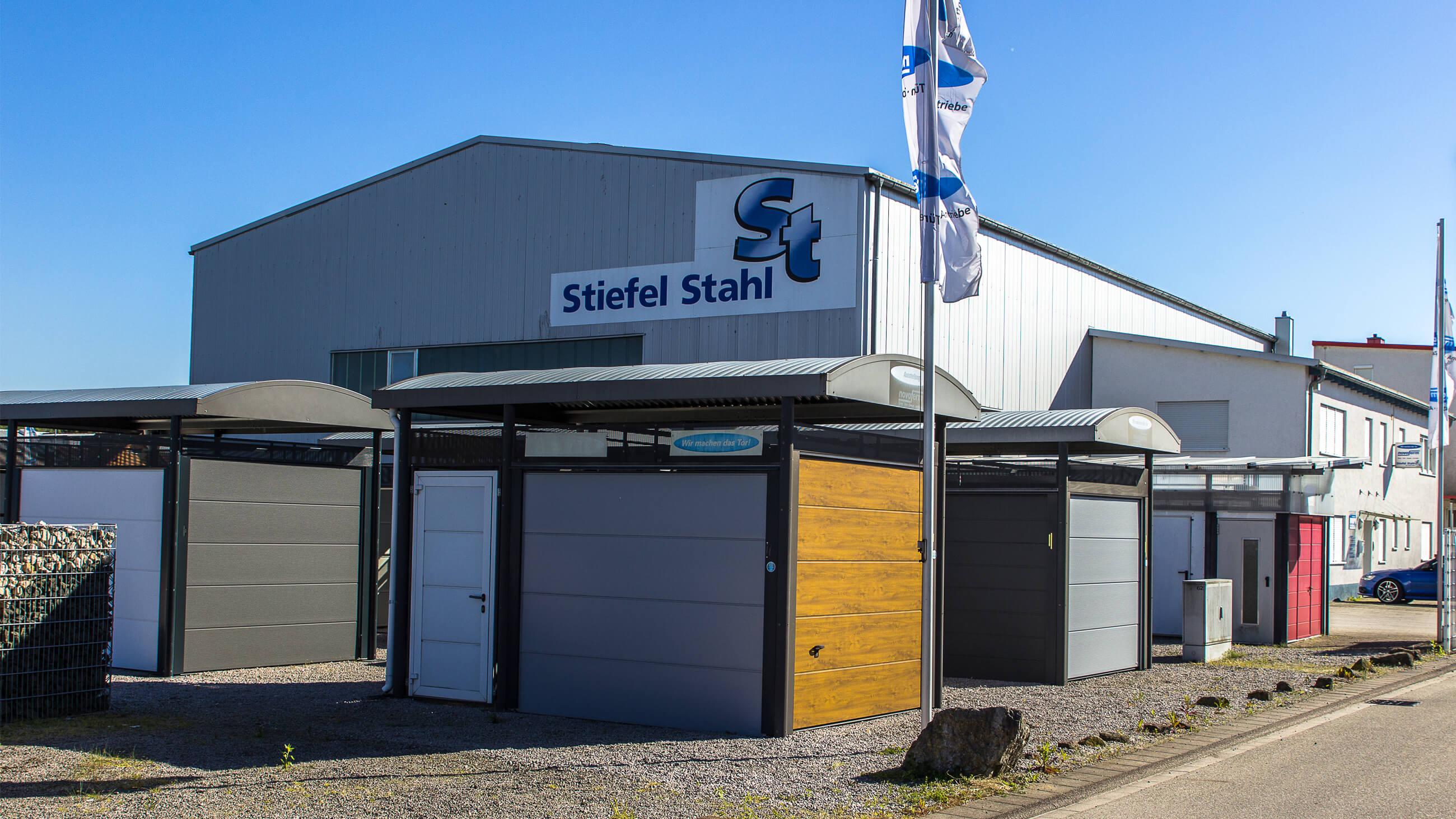Stiefel Stahl GmbH & Co. KG - Willkommen